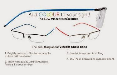Flat 30% Off on Vincent Chase Ultra Light Weight Eyeglasses at Lenskart