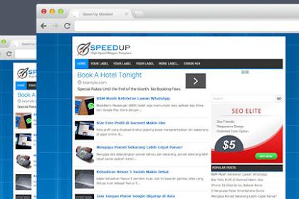 10 Template Blog Responsive Sederhana Untuk Iklan AdSense