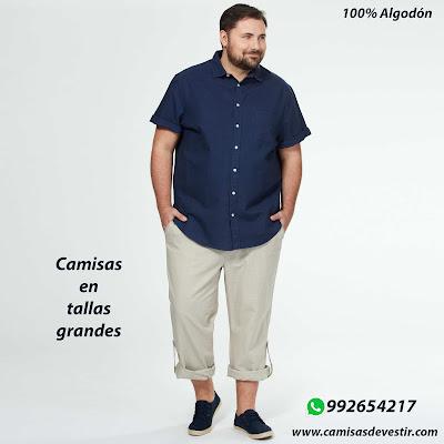 Camisas tallas grandes Amazonas