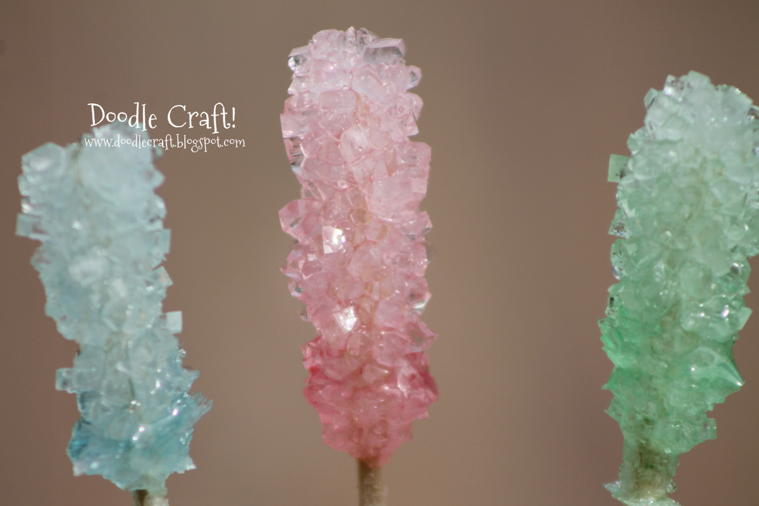 Homemade Crystal Rock Candy