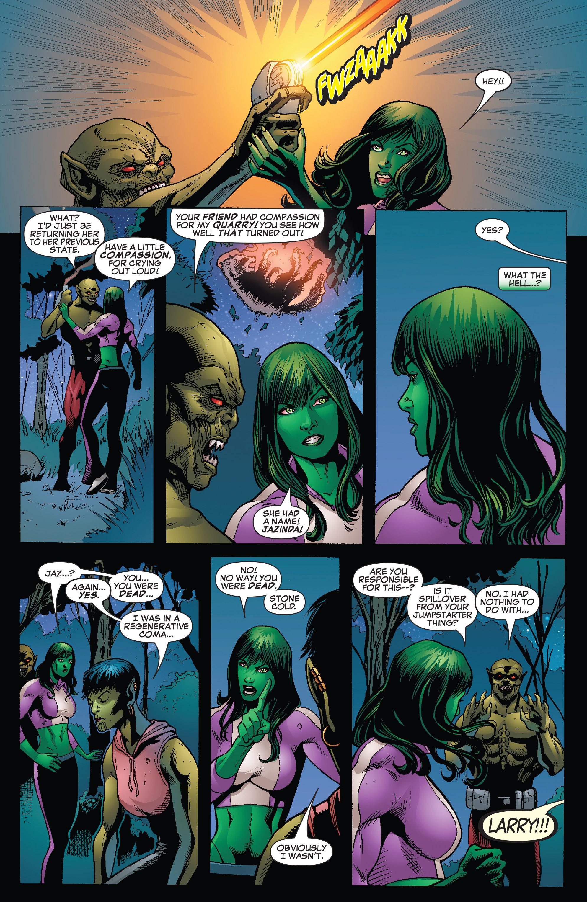Read online She-Hulk (2005) comic -  Issue #26 - 13