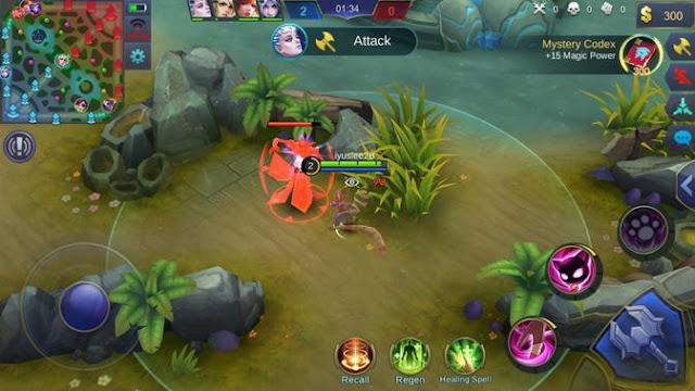 Kill monster di jungle dan minion yang ada di area