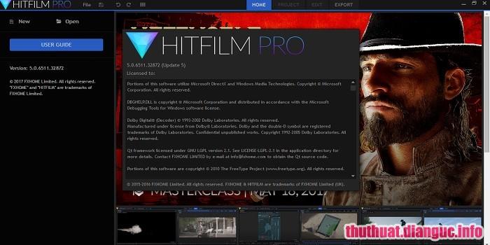 Download HitFilm Pro 11.0.8319.47197 Full Cr@ck – Phần mềm biên tập video chuyên nghiệp