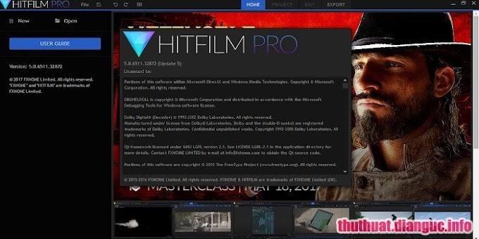 Download HitFilm Pro 11.0.8319.47197 Full Cr@ck - Phần mềm biên tập video chuyên nghiệp