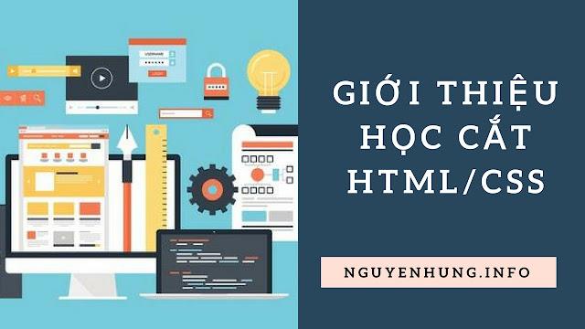 Học Cắt HTML/CSS Là Gì