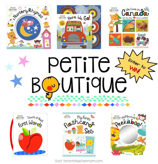 Petite Boutique Baby Books Collection - Giveaway
