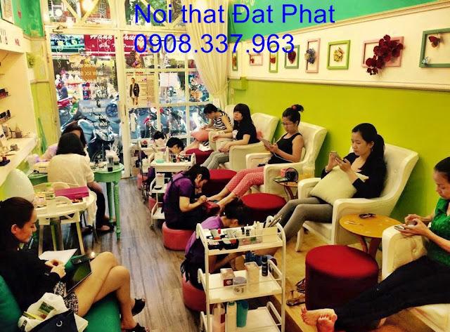ghế nail, ghế nail giá rẻ, ghế salon