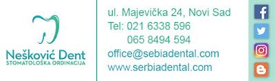 Nešković Dent stomatološka ordinacija, Kontakt