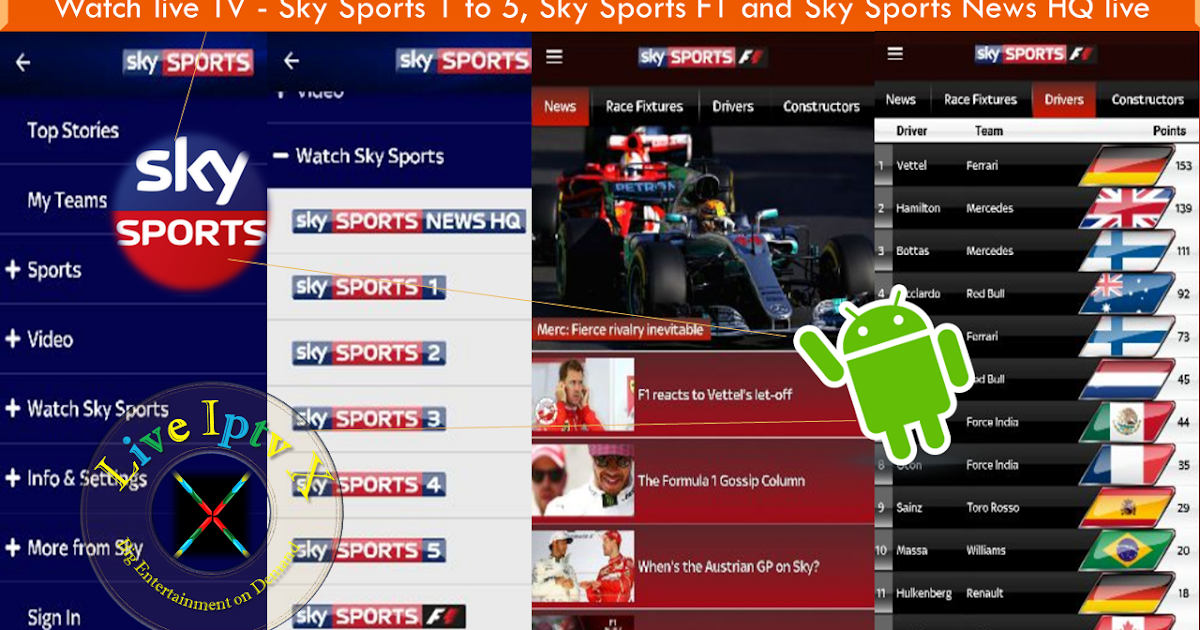 Internet Companies Near Me >> Sky Sports Android Apk For Watch Sky Sports TV Channels On Android Devices | Live Iptv X