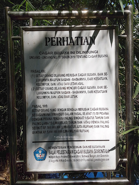Plang Cagar Budaya di Kompleks Makam Tuanku Imam Bonjol | © Jelajahsuwanto