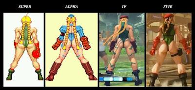 Street Fighter - Cammy's Assvolution