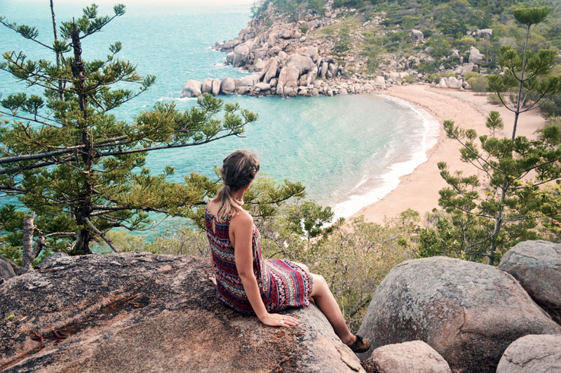 arthur bay lookout magnetic island travel diary
