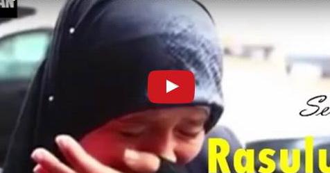 VIDEO: Saat Ditanya Seandainya Rasul Ada Bersama Kita, Wanita Ini Langsung Menangis Tak Tertahankan