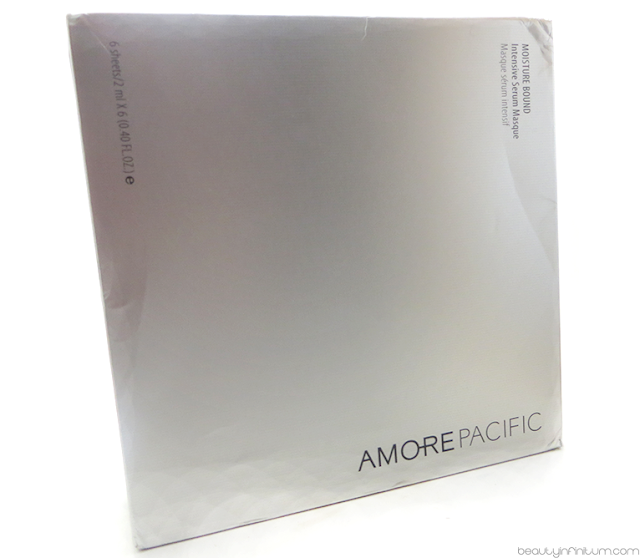 AMOREPACIFIC'S Moisture Bound Masques
