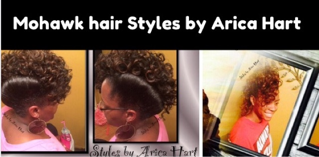 6 Trendy Mohawk Hair Styles With Curls