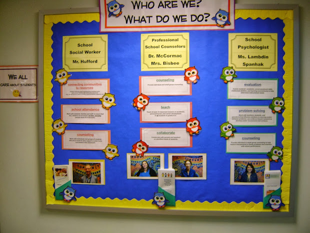 Elementary Counseling Bulletin Boards