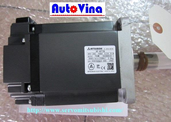 Đại lý bán Động cơ Servo Mitsubishi 750W HF-KP73, sửa chữa bảo hành servo Mitsubishi tại Việt Nam