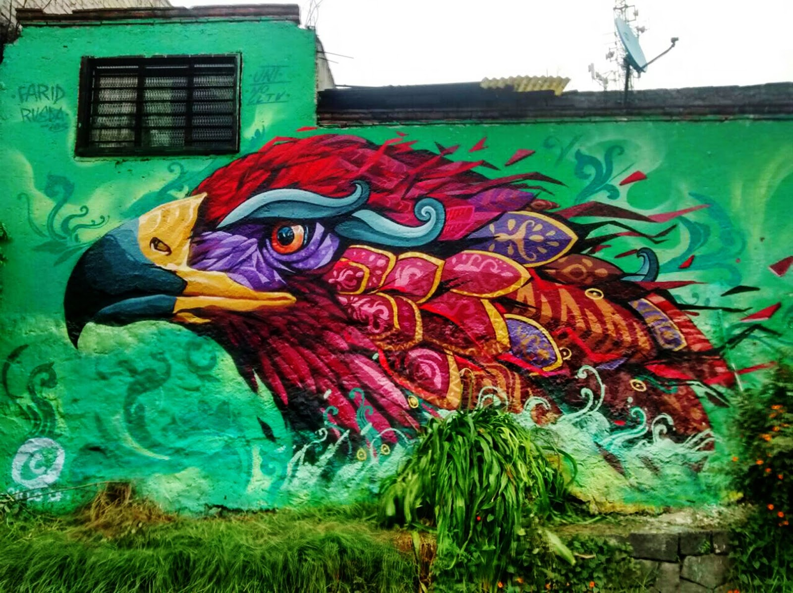 Arte En Mexico Df Wings Of Destiny Quot A New Mural By Farid Rueda In Mexico Df