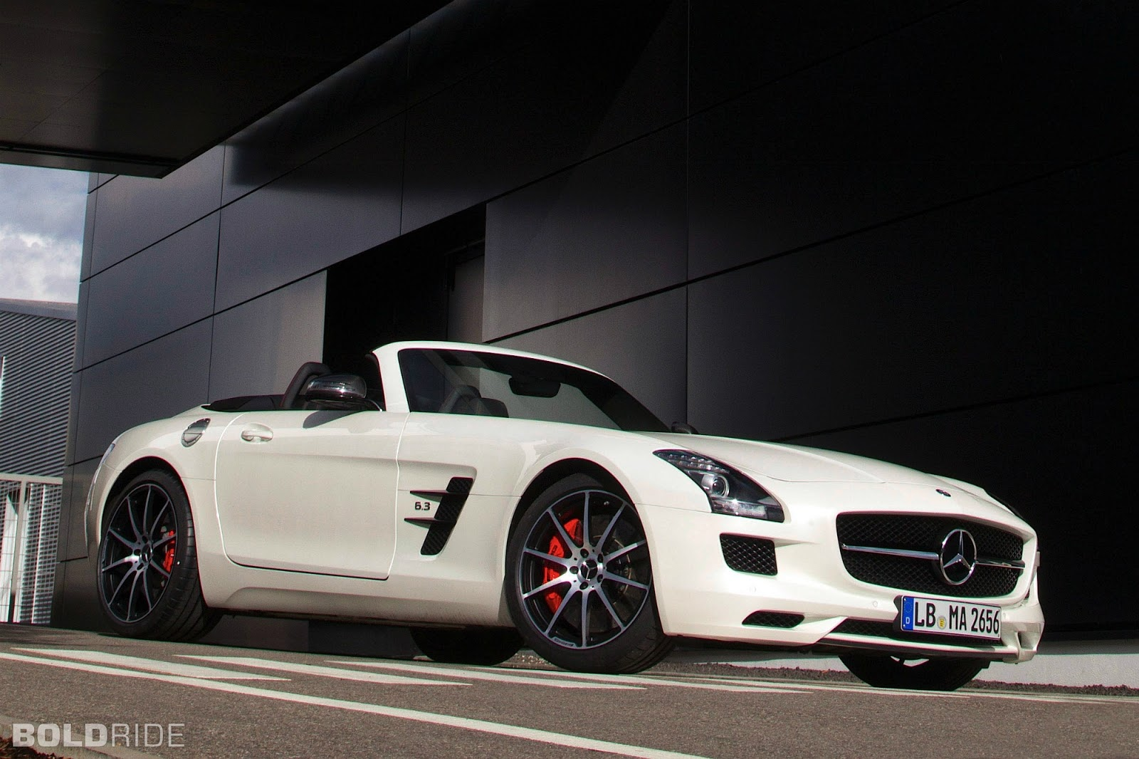 Wallpapers Hd For Mac Mercedes Benz Sls Amg Roadster White Color