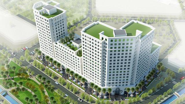 Phối cảnh dự án chung cư Eco City Long Biên