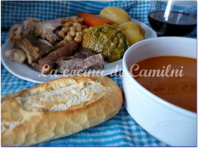 Cocido gallego (La cocina de Camilni)