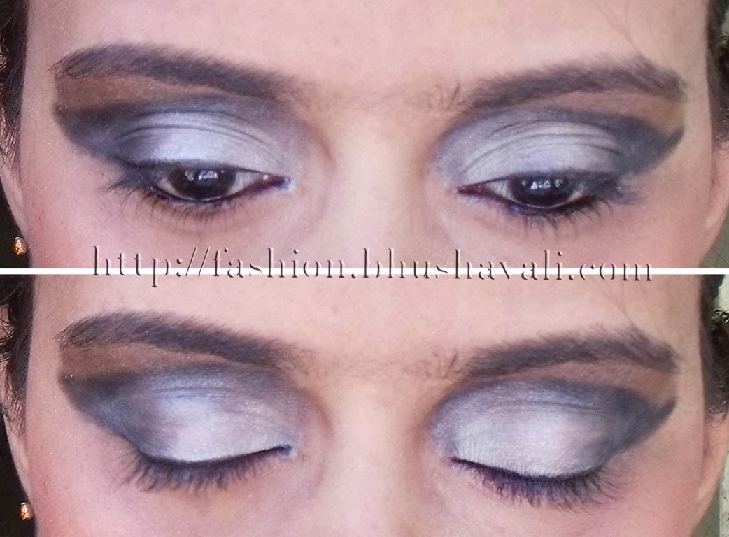 Blue Black And Silver Eye Makeup Anexa Market