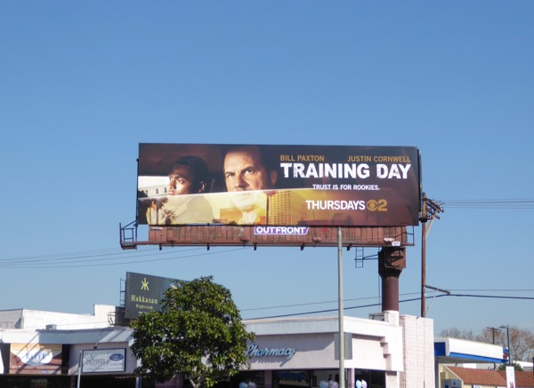 Training Day CBS remake billboard