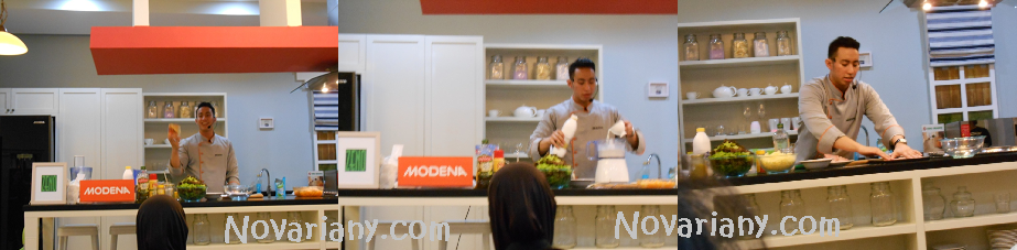 Chef yuda Bustara on action