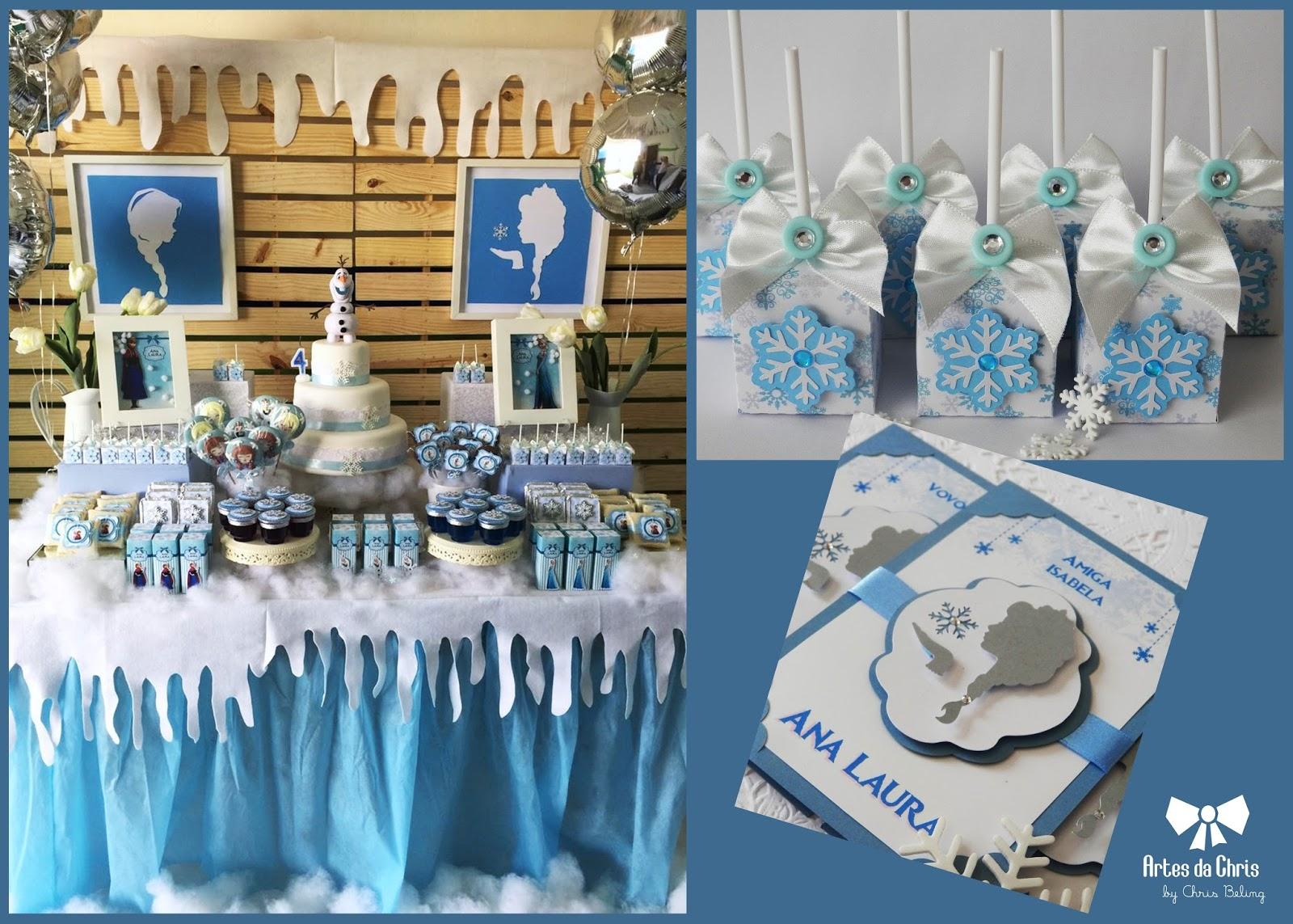 Mimos Frozen por Artes da Chris (Chris Beling)