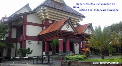 Daftar Fakultas Dan Jurusan ISI Solo / Institut Seni Indonesia Surakarta