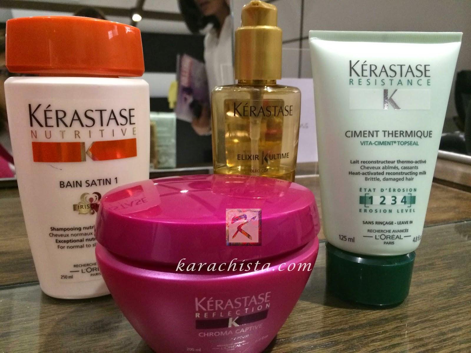 Kerastase treatment for great hair