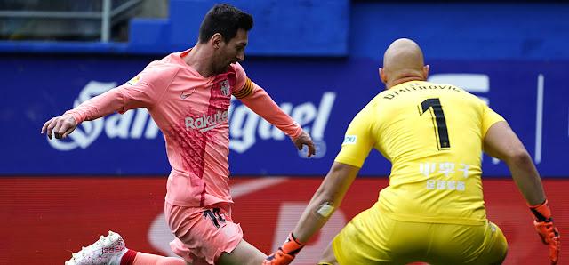 FÚTBOL: Leonel Messi mantiene ampliamente su liderato al frente de la Bota de Oro del fútbol europeo.
