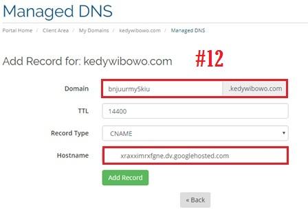 Cara Setting Domain Blogger RumahWeb dari Blogspot Menjadi TLD