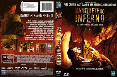 Filme Banquete no Inferno (Feast) DVD Capa