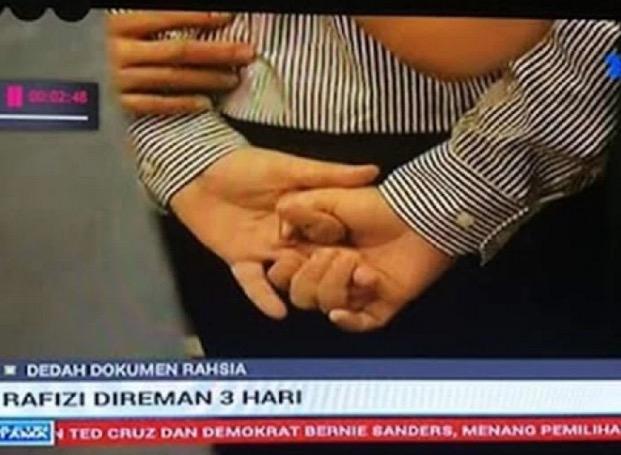 Pengakuan Rafizi Ramli Minta Polis Gari Tangannya