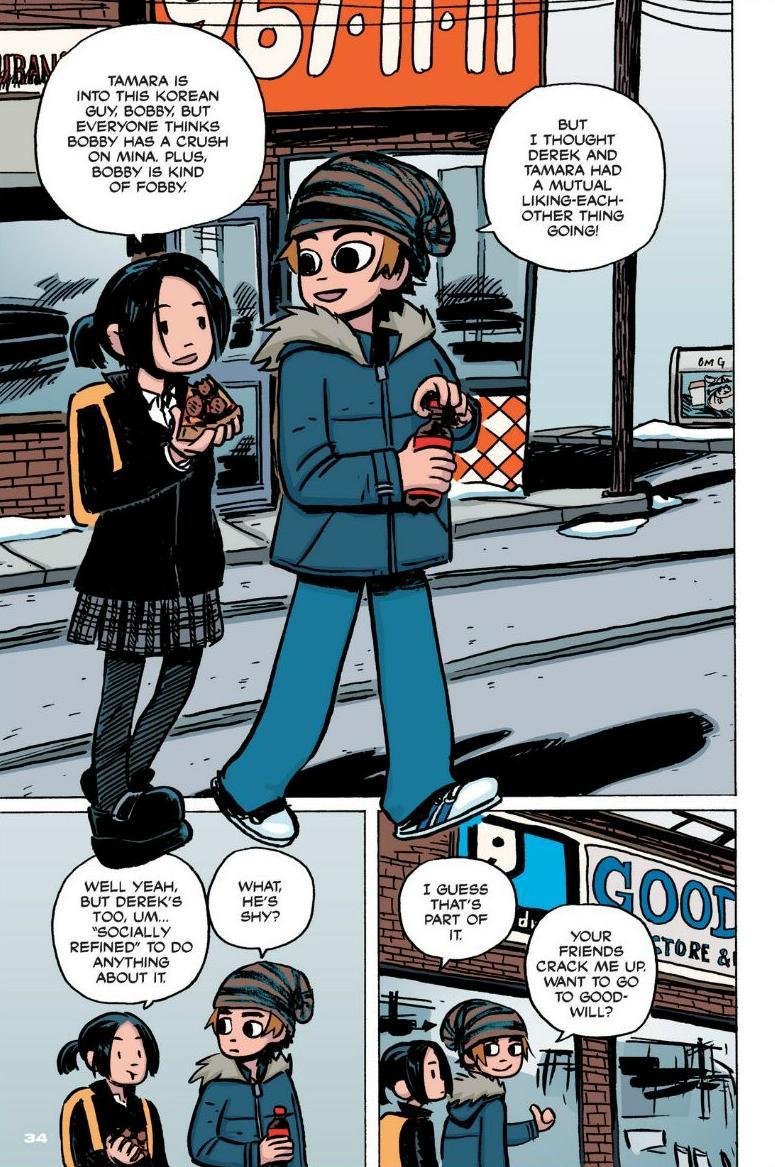 Read online Scott Pilgrim comic -  Issue #1 - 28