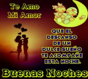 buenas noches amor sms