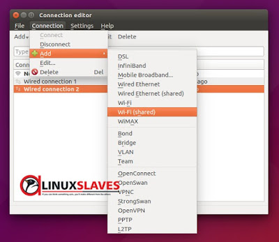 Share Internet Connection From Ubuntu to Android
