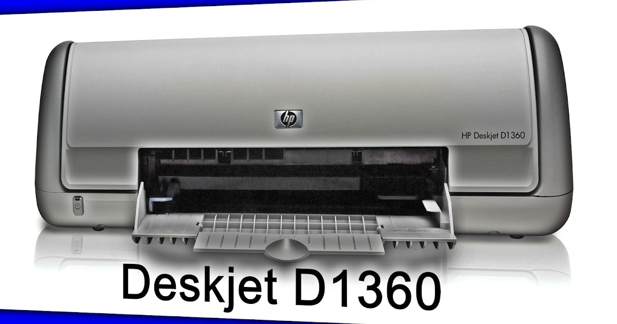 DESKJET BAIXAR WINDOWS HP 7 D1360 DRIVER