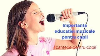 Educatia muzicala copii