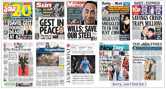 front pages 13-04-16