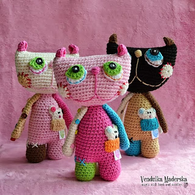 Crochet cat pattern