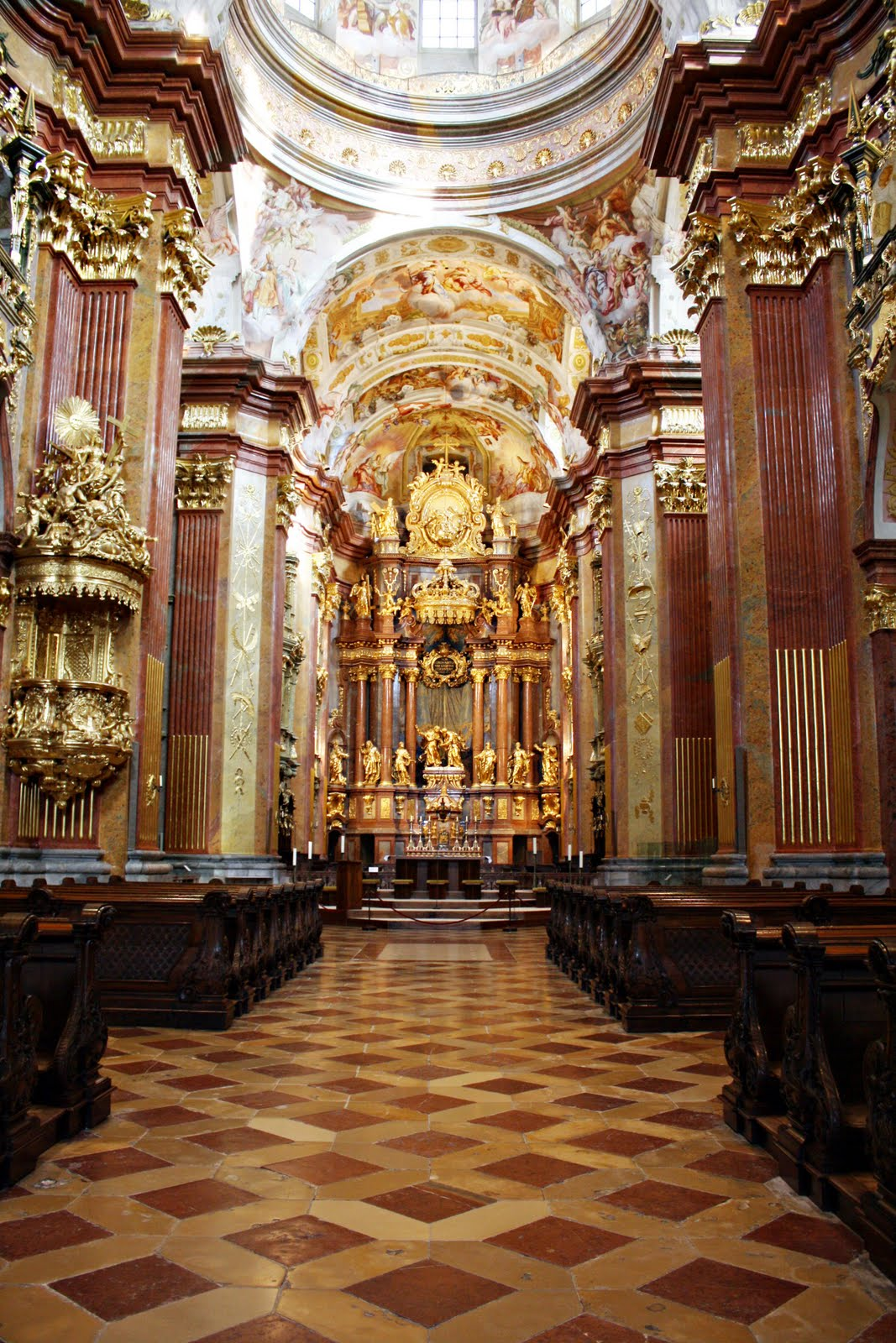 Scrapping And Traveling Melk Abbey