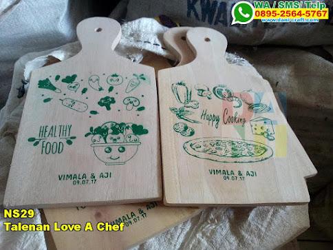 Harga Talenan Love A Chef