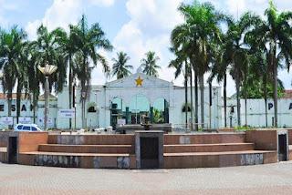 Benteng Kuto Besak di Palembang