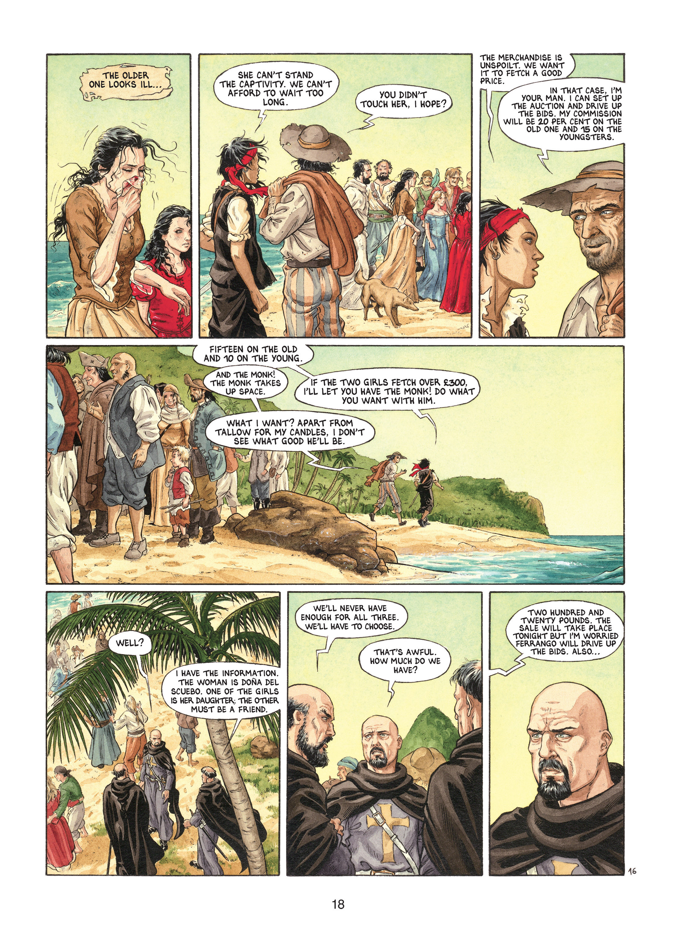 Read online Barracuda comic -  Issue #1 - 18
