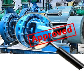 inspeksi peralatan mesin berputar