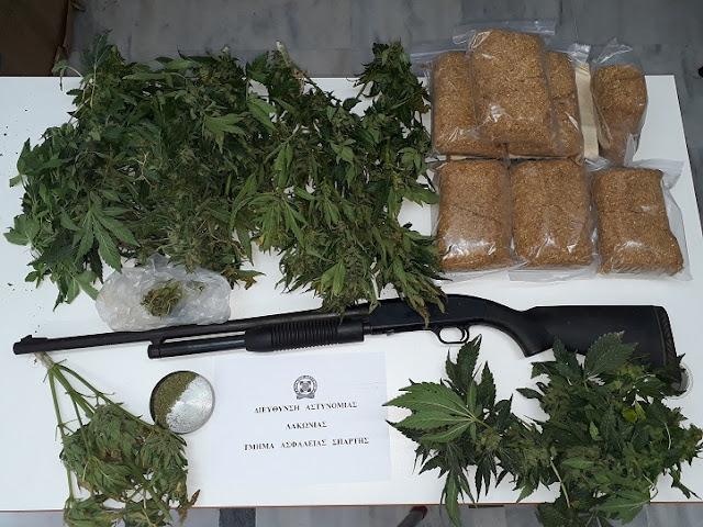 Συνελήφθη 67χρονος με 12 δενδρύλλια κάνναβης
