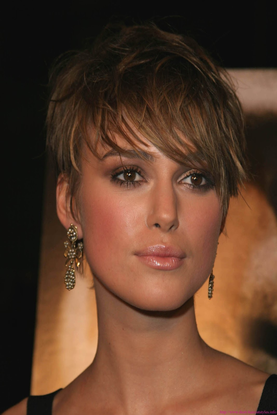Hairstyles Popular 2012 Celebrity Short Brown Hairstyle