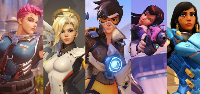 overwatch female characters